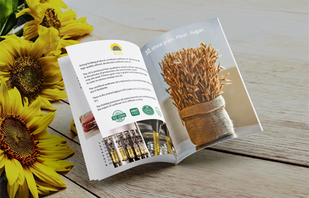 Брошюра для агрохолдинга Асторг