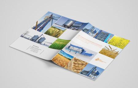 Дизайн брошюры для агрокомпании