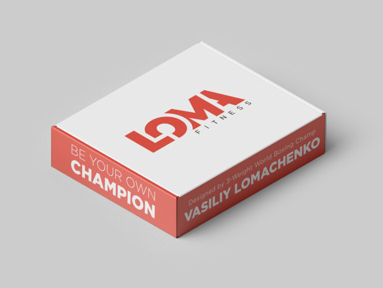 Упаковка пояса бренда Василия Ломаченко Loma Sports™
